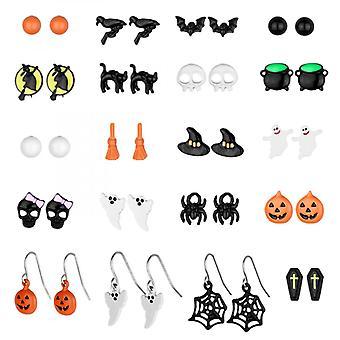 Kombination Ohrring Set Mode Ohrringe Und Lustige Halloween Ohrringe Halloween