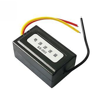 12V Netzteil Vorverdrahteter schwarzer Kunststoff Audio Power Filter