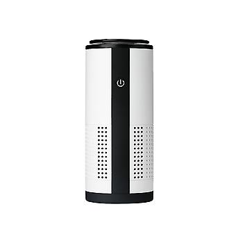 Car Mute Negative Ion Air Purifier Car Oxygen Bar Machine In Addition To Odor and Formaldehyde-White