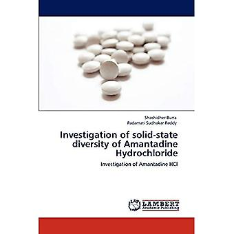 Investigation of Solid-State Diversity of Amantadine Hydrochloride