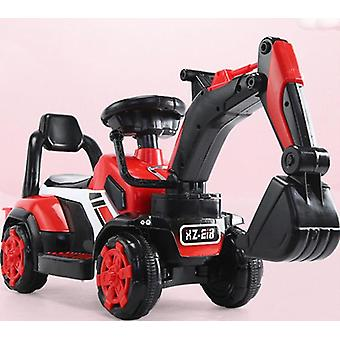 Children''s Electric Car Toy Remote Control Knight Excavator