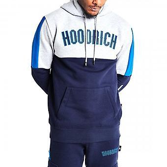 Hoodrich OG Panel V2 OTH Hoodie Sweatshirt Grey/Navy