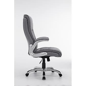Office Chair - Desk Chair - Home Office - Modern - Grey - Plastic - 74 cm x 76 cm x 108 cm