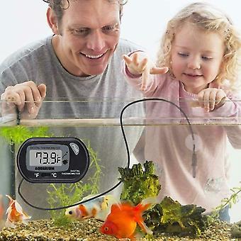 LCD digitális akvárium hőmérő haltartály akváriumhoz