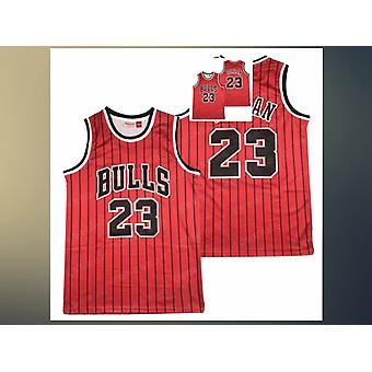 Mens Basketball Jersey Chicago Bulls #23 Space Movie Jerseys 90s Hip Hop Outdoor Sports T-shirt Blue/black/red S-xxl