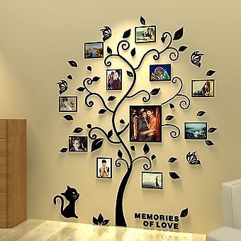 Klistermärken Muraux 3d Amovibles Arbre Klistermärken Autocollants Muraux Avec Cadres