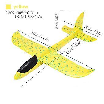 Airplane Throwing Foam Airplane Glider Airplane 50 Cm