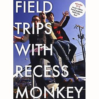 Recess Monkey - Field Trips with Recess Monkey EP 1-4 [DVD] USA import