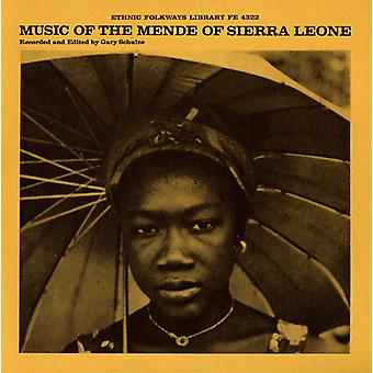 Music of the Mende of Sierra Leone - Music of the Mende of Sierra Leone [CD] USA import
