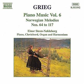 E. Grieg - Grieg: Piano Music, Vol. 6 [CD] USA import
