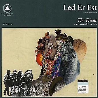 Led ER Est - Diver [CD] USA import