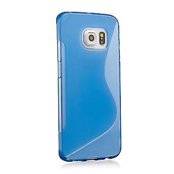 S-Line gel Housse Etui pour Samsung Galaxy S6 SM-G920 - Deep Blue