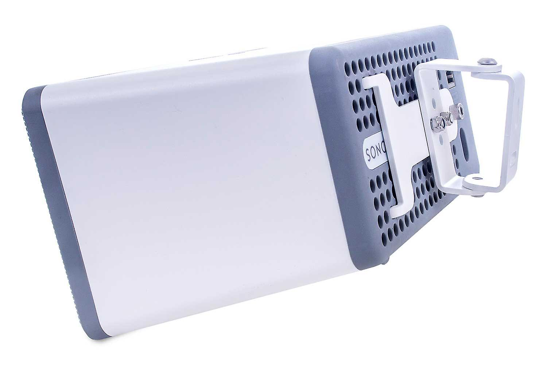 Vebos wall bracket Sonos Play 3 white 15 degrees