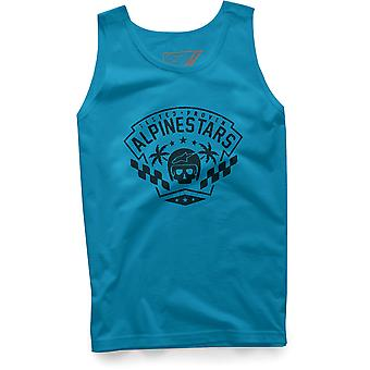 Alpinestars First Order Sleeveless T-Shirt in Turquoise