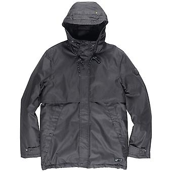 Element Freeman Parka Jacket em Flint Black