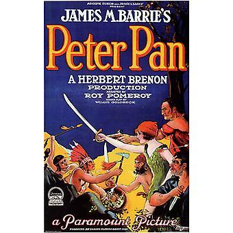 ピーターパンの映画のポスター (11 x 17)