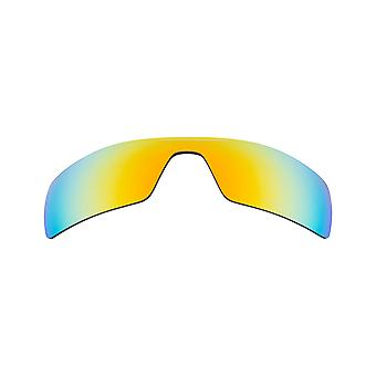 Replacement Lenses for Oakley Oil Rig Sunglasses Gold Mirror Anti-Scratch Anti-Glare UV400 by SeekOptics