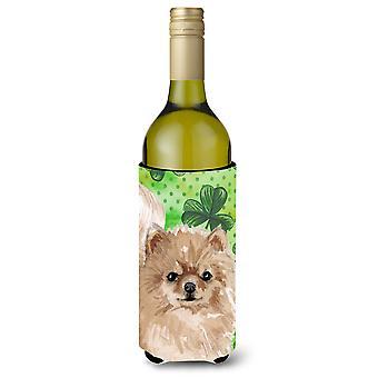 Garrafa de vinho de Pomerânia St. Patrick Beverge isolador Hugger