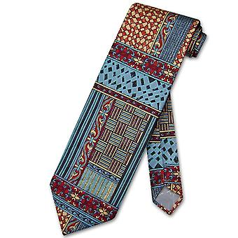 Antonio Ricci SILK NeckTie Made in ITALY Geometric Design Men's Neck Tie #3104-3