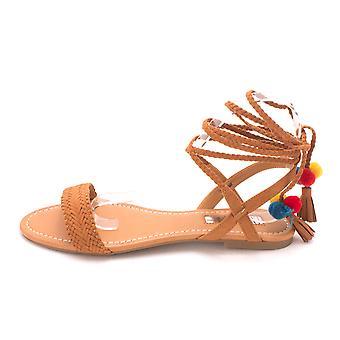 INC internationale begreber dame Ganice stof åben tå Casual dias sandaler