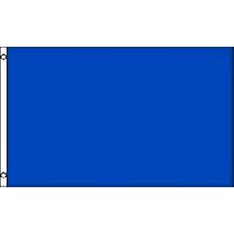 Duidelijke blauwe vlag 5 ft x 3 ft met oogjes voor verkeerd-om