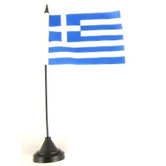 Kreikka taulukon lippu kiinni ja pohja