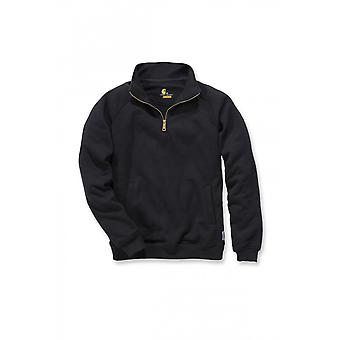 Carhartt men's quarter zip mock neck Sweatshirt