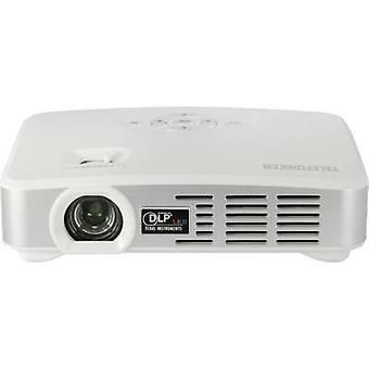 テレフンケン プロジェクター DLP500 WIFI DLP ANSI ルーメン: 500 lm 1280 x 800 wxga 液晶 1000:1 ホワイト