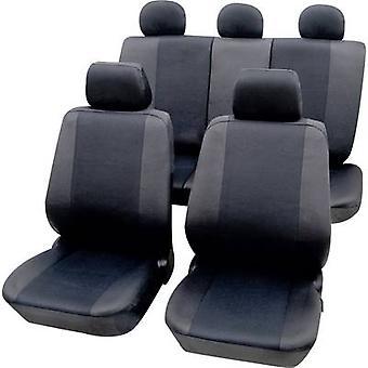 Petex 26174802 Sydney capas 11 peças poliéster grafite Drivers assento, assento de passageiro, banco traseiro