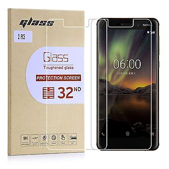 Extra Armoured Tempered Glass for Nokia 6.1 (2018) - 2 Pack