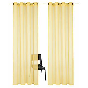 Set di casa HEINE di 2 set di sospensione di Kapoor porte giallo semi-trasparente luce delicata del contorno occhi