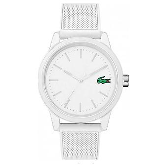 Lacoste 12.12 White Rubber 2010984 2010984 Watch