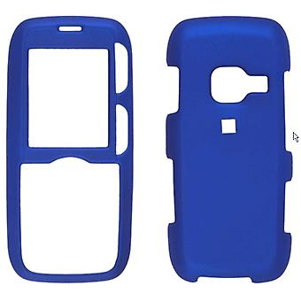 Zweiteilige Soft Touch Snap On Case für LG AX260 - Dark Blue