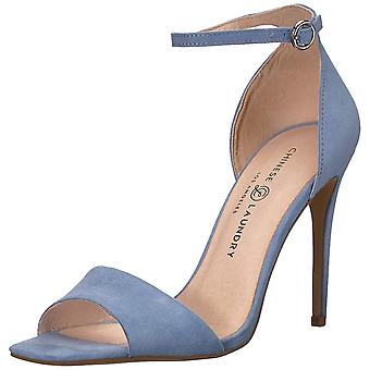 Chinese Laundry Womens Julien Suede Open Toe Casual Ankle Strap Sandals