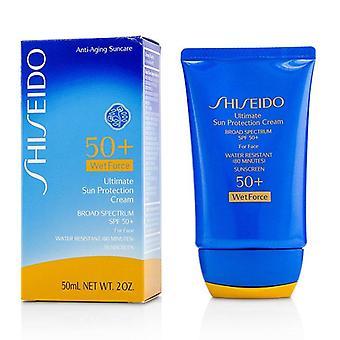 Shiseido Ultimate Sun Protection Cream Wetforce For Face Spf 50+ - 50ml/1.7oz