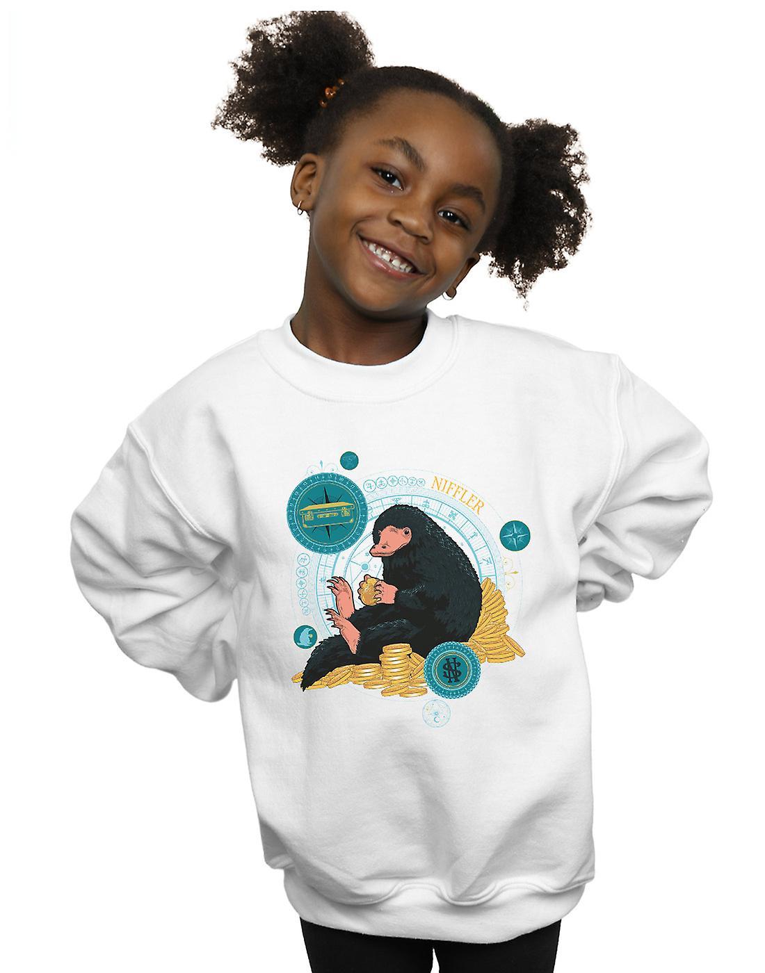 Fantastic Beasts Girls Sitting Niffler Sweatshirt