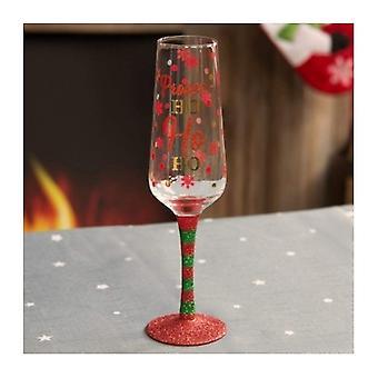 Gift Boxed Festive Prosecco Glass