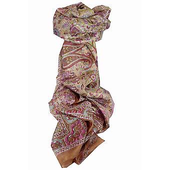 Mulberry Silk Traditional Long Scarf Kirin Gold by Pashmina & Silk