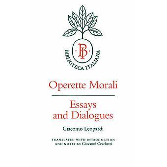 Operette Morali - エッセイとジャコモ ・ レオパルディの対話 - ジョバンニ