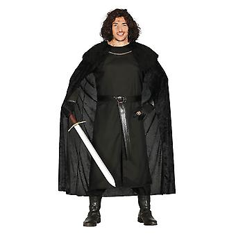 Miesten keskiaikainen Vigilante naamiaispuku puku