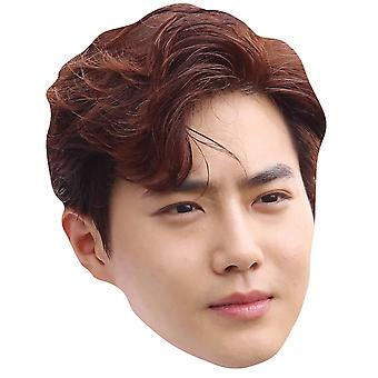Suho from Exo 2D Card Party Fancy Dress Mask