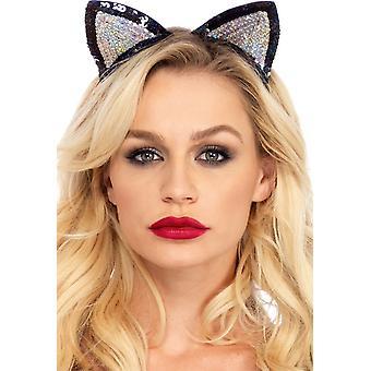 Adulto de Sequin de orelhas de gato