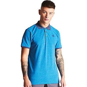 Dare 2 b Herren Ehrerbietung Baumwolle Kurzarm Polo-Shirt