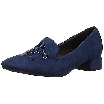 Azura Womens Fleurde Closed Toe Loafers