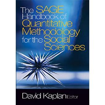 The SAGE Handbook of Quantitative Methodology for the Social Sciences by Kaplan & David