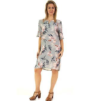 POMODORO Dress 81908 Duck Egg