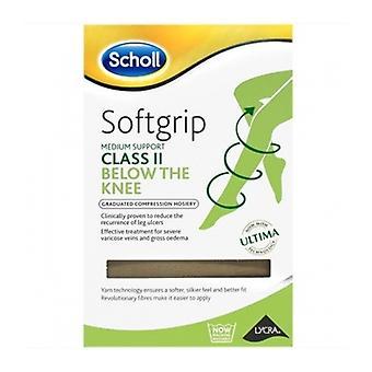 Scholl Softgrip C2 Knee O/Toe Nat X-Lge