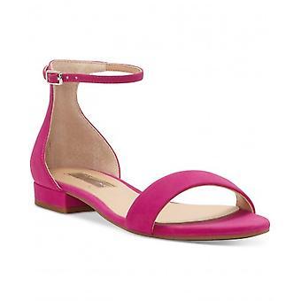 INC International Concepts Womens Yaffa Fabric Open Toe Casual Ankle Strap Sa...