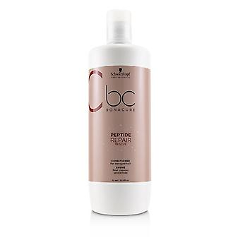 Schwarzkopf Bc Bonacure Peptide Repair Rescue Conditioner (for Damaged Hair) - 1000ml/33.8oz