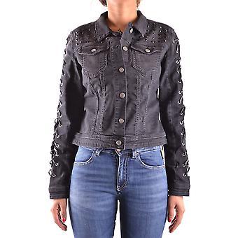 Meltin-apos;pot Ezbc262038 Veste Black Denim Outerwear